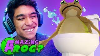 O SAPO CAIU NA PRIVADA !! ( Amazing Frog )