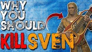 Why You Should Kill Sven | Hardest Decisions in Skyrim | Elder Scrolls Lore
