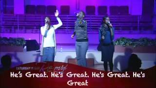 """The McKains singing """"Awesome"""" by Charles Jenkins"""