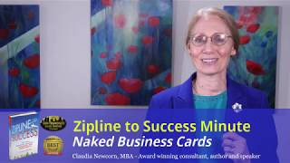 Zipline Minute #6: Are Your Business Cards Naked?
