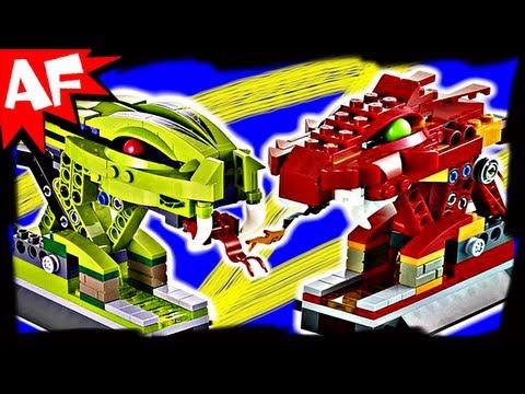 Vidéo LEGO Ninjago 9456 : Le combat de toupies