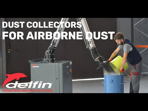 Delfin Industrial Compressed Air Vacuum Cleaners Solutions