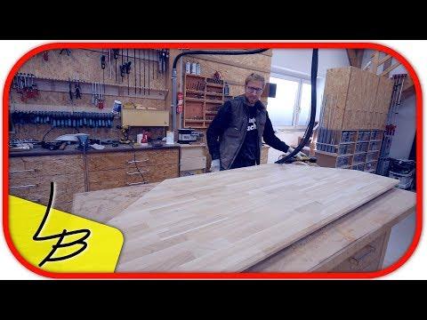 #5 Schreibtisch selber bauen | Die Tischplatte fertigen