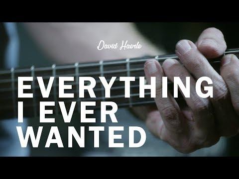 """David Haerle - """"Everything I Ever Wanted"""""""