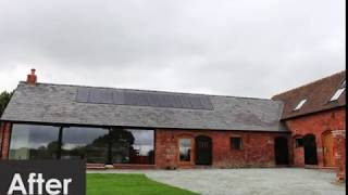 Recently Completed Barn Conversion In Ford, Shropshire.