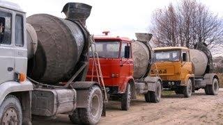 preview picture of video 'Star 200 gruszka do betonu (3 szt. na raz) Busko Zdrój Polish concrete mixer Polska motoryzacja'
