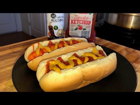 Carrot Hot Dog Recipe = Healthy Recipe Channel – Vegan Recipe