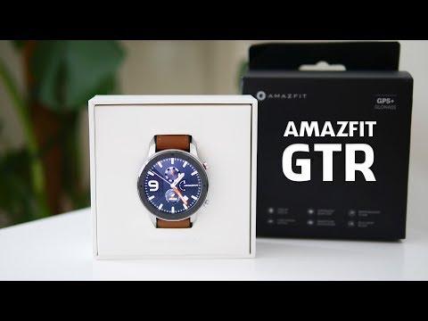 Review: AMAZFIT GTR Smart Watch (Deutsch) - 140 Euro Edel-Uhr im Test