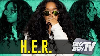 BigBoyTV - H.E.R. On Being Confident as an Artist, Being in a Group w/ Kehlani & A Lot More!