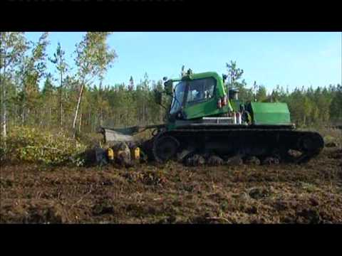 Torniolaisen P&J Herajärvi Oy:n telajyrsinkone