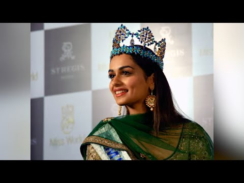 """""""Indian Women Should Face Challenges Head-On"""", Says Miss World Manushi On Padmavati Row"""