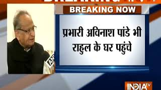 The party will decide on who as the chief minister would work best: Ashok Gehlot