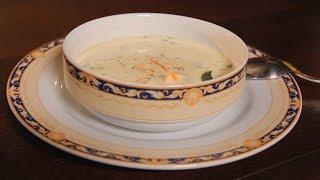 Сливочный суп из морепродуктов. Рецепт от шеф-повара.