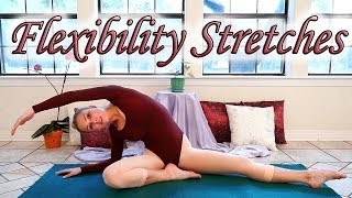 Stretches To Improve Flexibility - 8 Minute Basic Dance & Ballet Stretch Exercise Routine by PsycheTruth