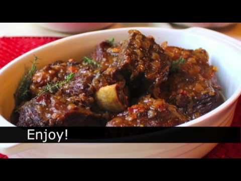 How to Make Beef Short Ribs – Sherry Braised Beef Short Ribs Recipe