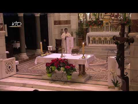 Messe du 4 janvier 2021 à Notre-Dame de la Garde