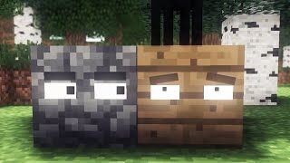 All Minecraft Life - Pig, Creeper, Skeleton, Iron Golem & Block Animations