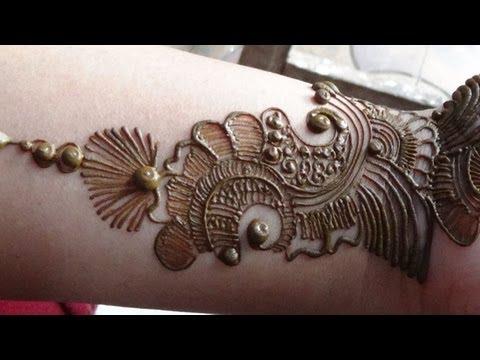best arabic tattoo mehndi design by mehndi artistica