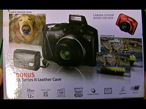 Canon Powershot SX150 IS Unboxing Mp3
