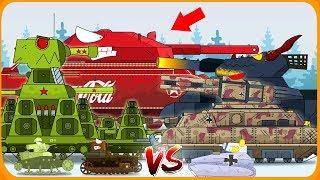 Бой за ёлку - Мультики про танки