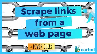 How to scrape website links with Power Query