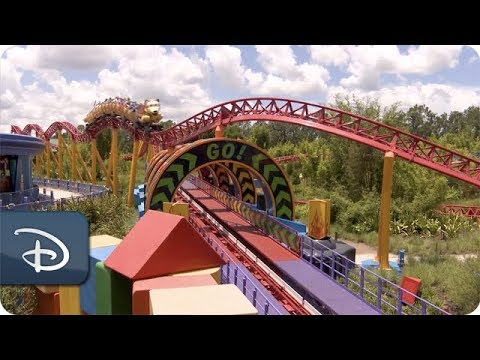 Cast Members Preview Slinky Dog Dash in Toy Story Land