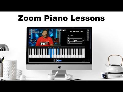 Online Piano Zoom Lessons :: Virtual Keys and ECamm Virtual Cam Using MIDIculous