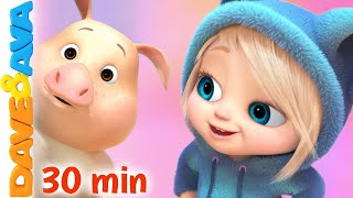 🌻 Farm Animals Song and More Nursery Rhymes & Kids Songs by Dave and Ava 🌻