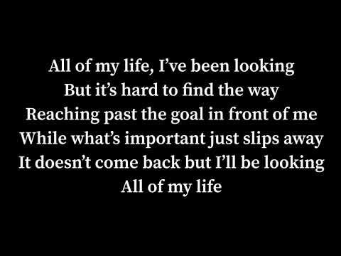 All of my life lyrics Phil Collins