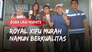 Bisnis Bubble Tea Lagi Ngehits, Royal Xifu Hadir di Bogor, Tawarkan Boba Murah Kualitas Premium