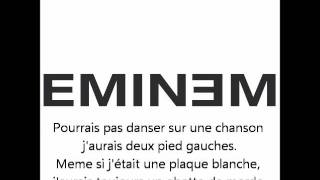 Eminem feat Sticky Fingaz, What If I Was White (Traduction Français)
