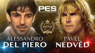 PES 2018 - Del Piero and Nedvěd Legends Trailer