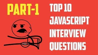 Top10JavaScriptInterviewQuestions