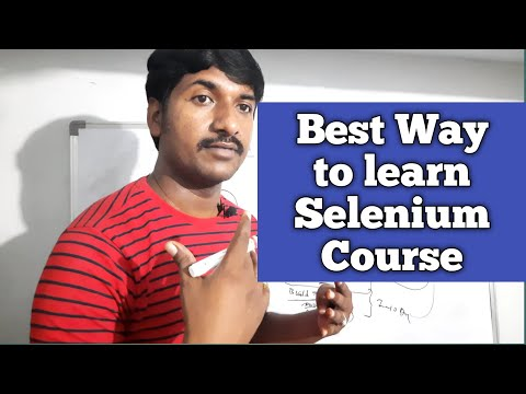 How to Learn Selenium Tutorial step by step   Selenium course for Beginners  selenium tutorial