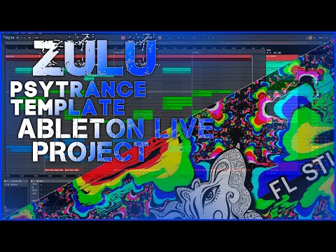 Zulu Psytrance Ableton Live Template [by Axel Walters]