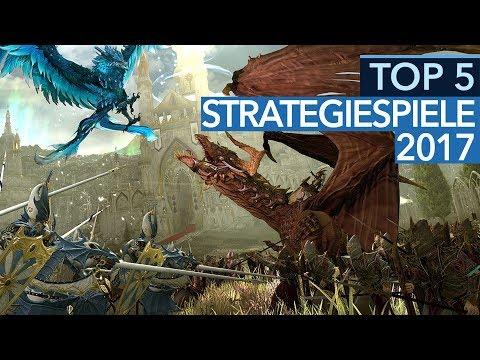 Top 5 - Die besten Strategie-Spiele 2017 nach GameStar-Wertung (Gameplay)