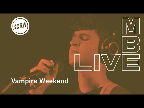 "Vampire Weekend Performing ""Holiday"" Live On KCRW"