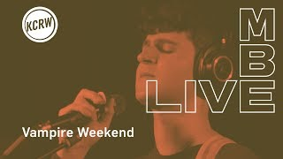 """Vampire Weekend performing """"Holiday"""" live on KCRW"""