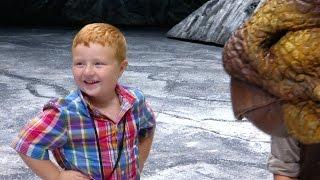 Noah Ritter Walks with Dinosaurs