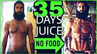 THE BEST JUICE FAST TRANSFORMATION YOU'LL EVER SEE ! | BEFORE AND AFTER RESULTS