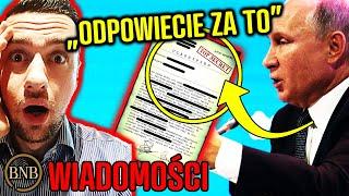 "Polska O̲S̲K̲A̲R̲Ż̲O̲N̲A̲! Putin: ""Współpracowaliście Z NIEMCAMI"" | WIADOMOŚCI"