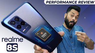 MediaTek Dimensity 810 Performance Review Feat. realme 8s ⚡ Gaming, RAM Management & More