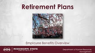 Retirement Plans Video