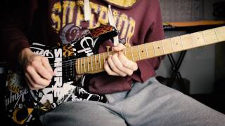 Warrant - Sometimes She Cries (guitar Solo)