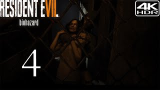Resident Evil 7 Biohazard  Walkthrough Gameplay 4  The Old House 4K 60FPS HDR Madhouse