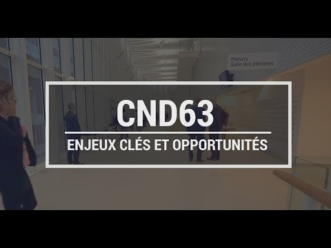 CND 63: Enjeux clés et opportunités