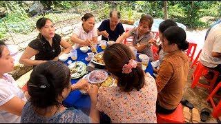 Tiệc nhỏ nhà anh Tuấn chị Hương - Hương vị đồng quê - Bến Tre - Miền Tây