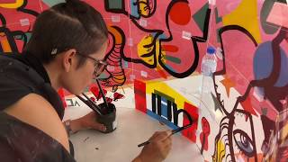 Fresque Art Box Individuelle – Lyon (Centre de Formation)