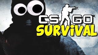 Funny Counter Strike Moments - CS GO Lego Survival mini games
