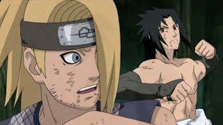 Sasuke vs Deidara Full Fight English Sub